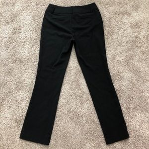 Black dress trouser pants / suit pants